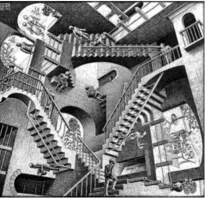 - Relatività - Maurits Cornelis Escher