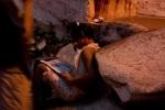 Una bimba di Rocinha e il calendario de Il Sorriso dei mieiBimbi