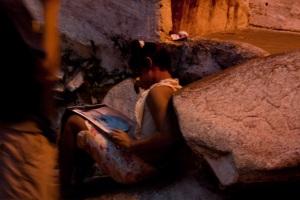 Artur di Rocinha e il calendario