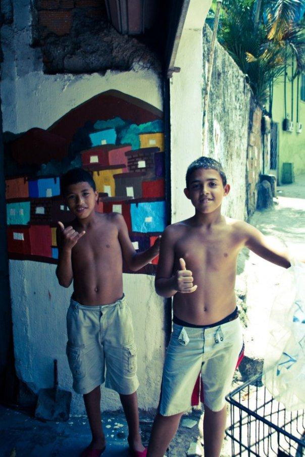 saracinesca sulla favela