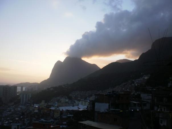 Pedra da Gávea al tramonto