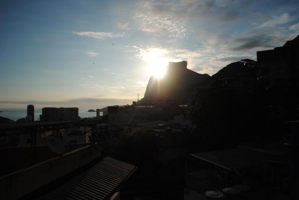 tramonto pedra da gavea
