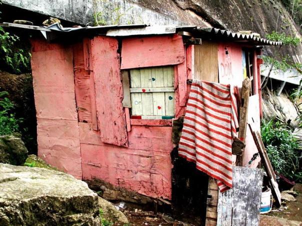 Baracca di Rocinha (foto di mauro villone)