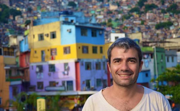 Mi chiamo Marco Loiodice, un ex-impiegato in favela, la favela Rocinha #finestrasullafavela (foto di Stefano Frigerio)