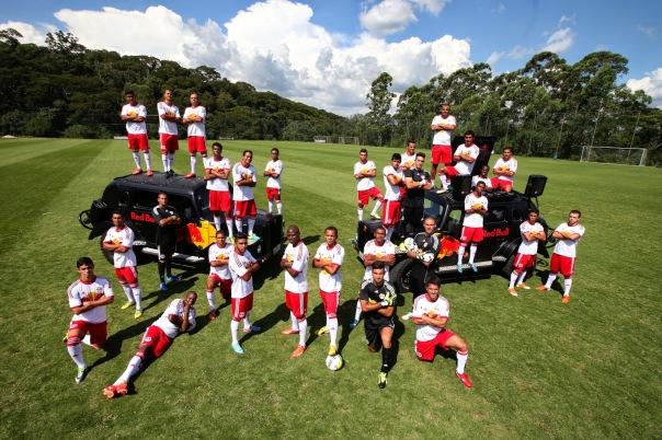 Selezione calciatori Redbull e Afroreggae