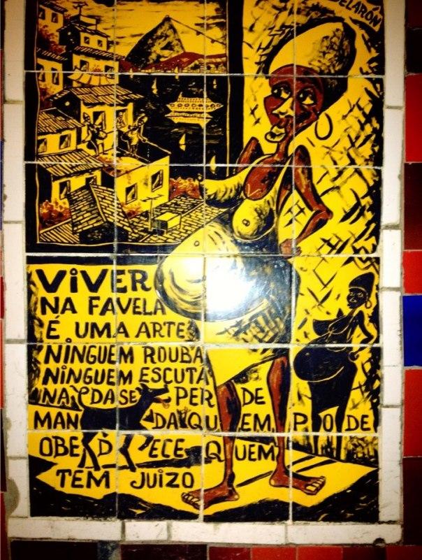 favela secondo selarón