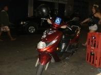 La moto di Micky skate