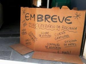 Garagem das Letras Rocinha