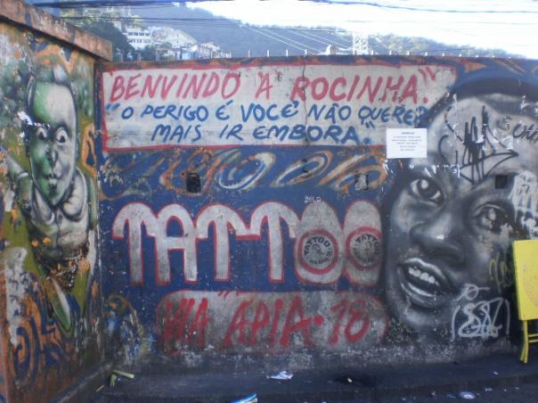 bemvindo a rocinha favela