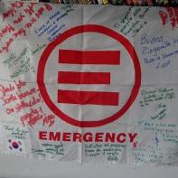 La bandiera di fine missione