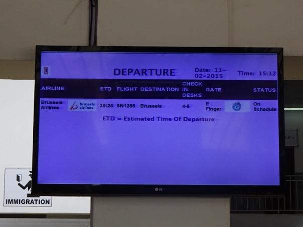 Il volo dopo l'ebola