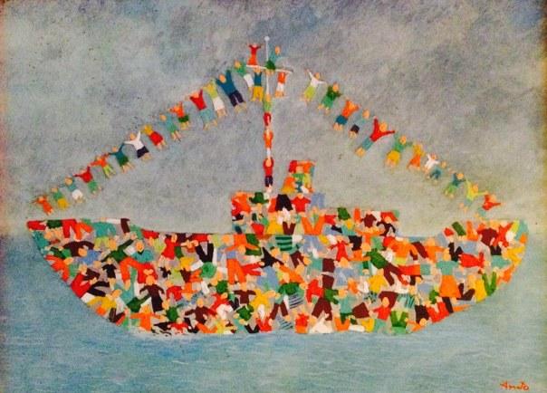 Mare amaro - olio su tela 1991 di Nicola Amato (su segnalazione di Rossella Speranza)