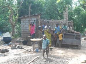 Finestra sulla terra Terra di Sierra Leone