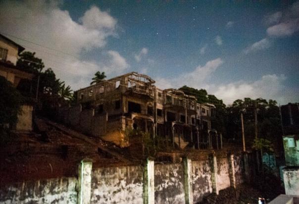La casa fantasma, amichevole concessione di www.alessandrogandolfi.com