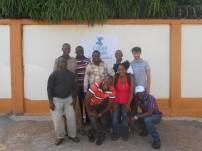 Un ricercatore in favela, Sierra Leone, Makeni - Io sono quello con la polo grigia