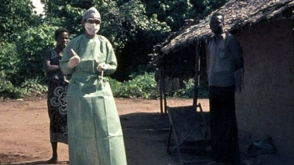 virus detective who discovered ebola in 1976 - da BBC news