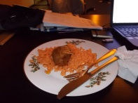 Jollof rice with fish