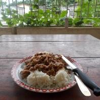Rice with beans - riso e fagioli