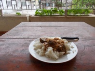 Rice with groundnut stew - riso con stufato di arachidi