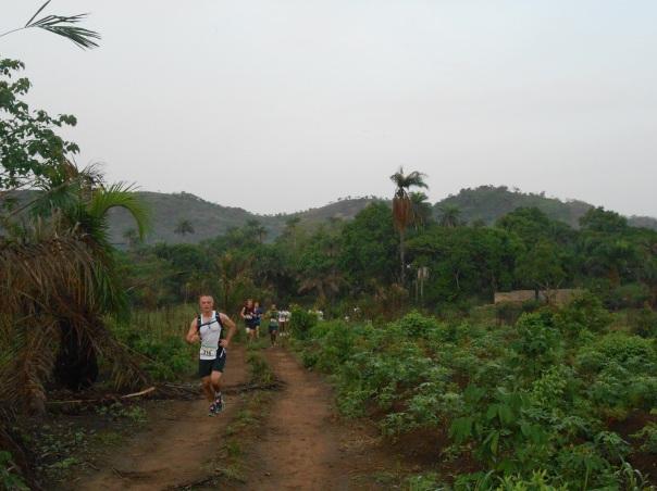 Di corsa, per liberarsi da ebola