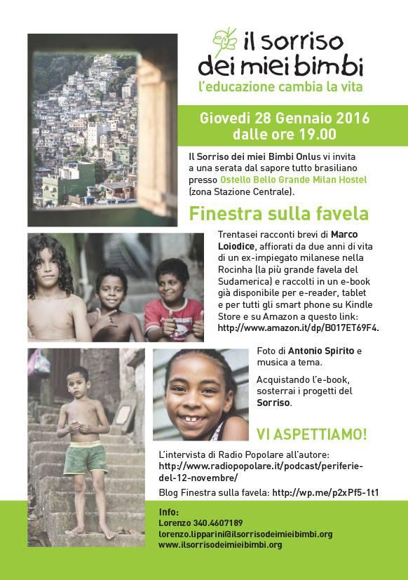 Finestra sulla favela Racconti e immagini dalla Rocinha di Rio: un invito