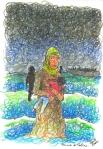 Mediterranean Hope – disegni di Francesco Piobbichi  ripresi da Finestra suLampedusa