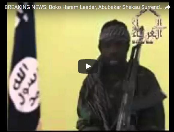 "Boko Haram Abubakar Shekau ""surrender"""