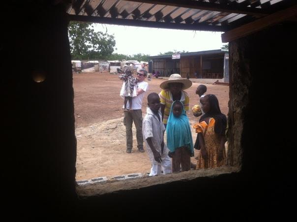 Finestra sul campo profugi ad Abuja