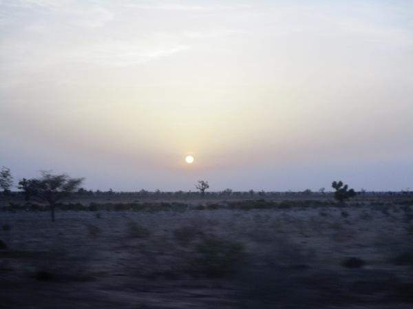 Passaggio a Borno, nordest Nigeria