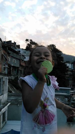 ouro na favela