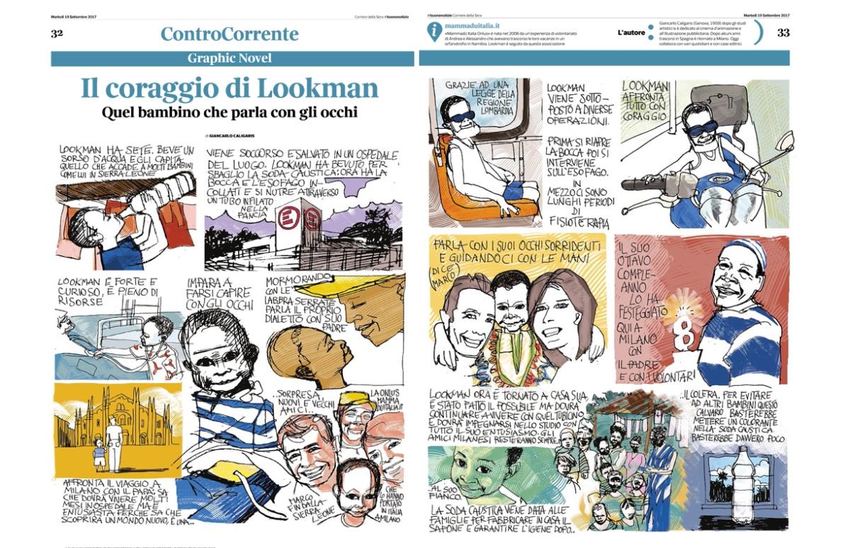 Lookman a fumetti, tutto su Lookman