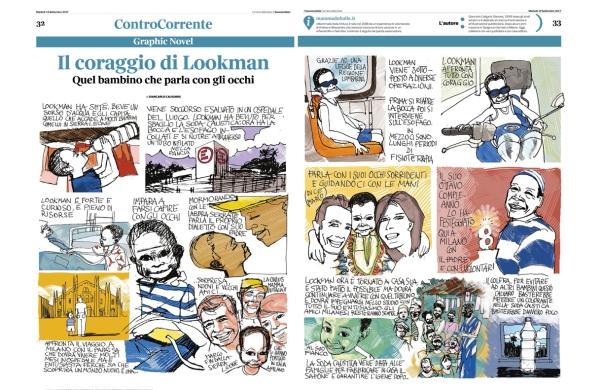 Il coraggio di Lookman, da Buone notizie de Il corriere della sera