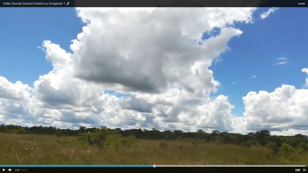 Video Nuvole Zambia Finestra su longacres 1