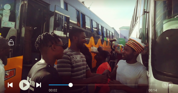 Video Nuvole Zambia Finestra su longacres lusaka bus station